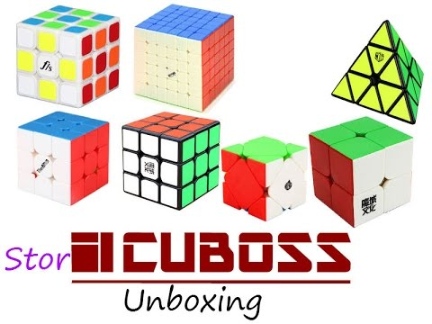 Stor Cuboss Unboxing
