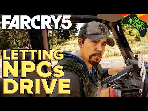 Far Cry 5 | Letting NPC's Drive