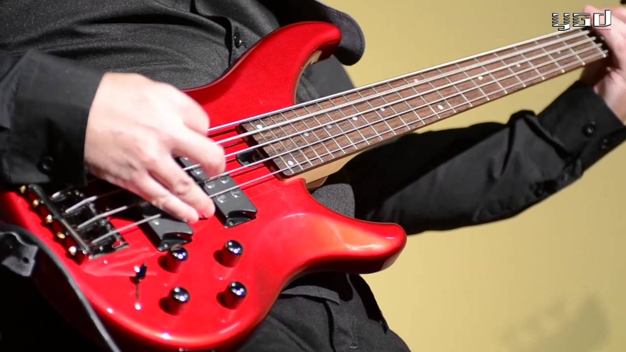 Yamaha trbx darrell craig harris youtube for Yamaha hs5 no bass