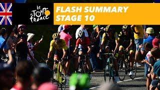 Flash Summary - Stage 10 - Tour de France 2018