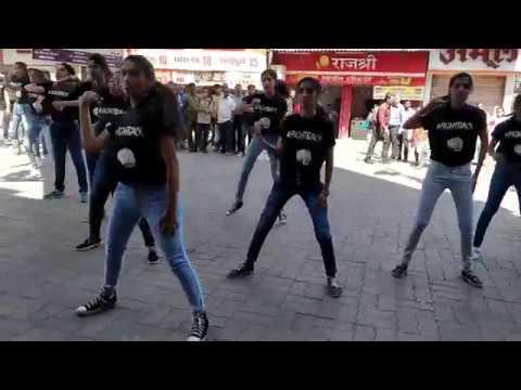 Women's Safety Awareness Flashmob | K.C. College Of Engineering & Management Studies & Research
