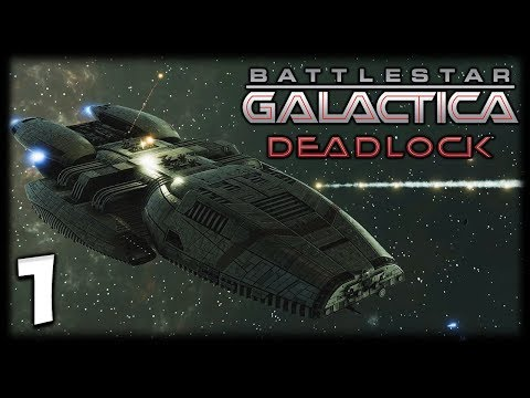 THE FIRST CYLON WAR! Battlestar Galactica Deadlock Gameplay #1