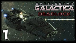 THE FIRST CYLON WAR! Battlestar Galactica Deadlock Gameplay #1