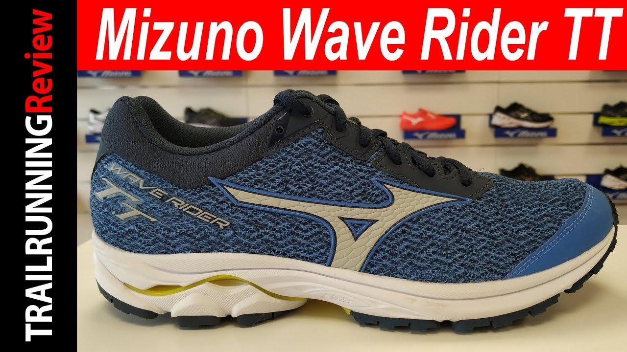 mizuno wave rider trail running