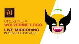 La création d'un Wolverine Logo: en Direct de la mise en Miroir à l'Ai