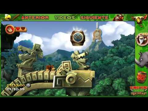 Wii l Guía l Donkey Kong Country Returns l # 15 l ¡ Mundo 3 : 3 - K. CR : 3 - 1 y 3 - 2 !