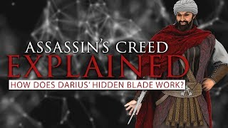 How Does Darius' Hidden Blade Work/Removal of Ring Finger | Assassin's Creed Explained