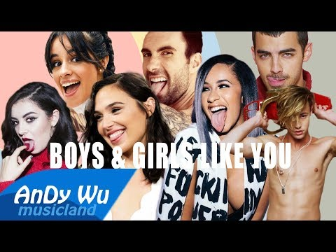 Maroon 5 - BOYS & GIRLS LIKE YOU ft. Cardi B & Charli XCX