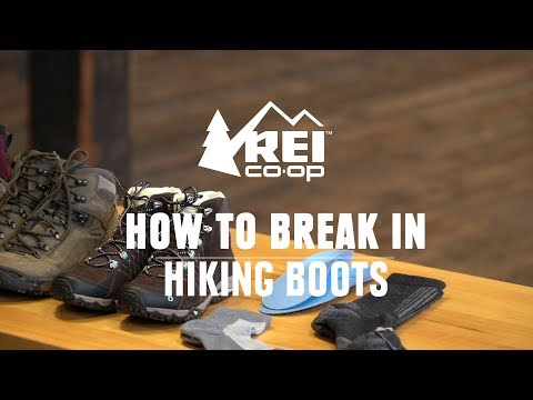 How to Break in Hiking Boots || REI thumbnail