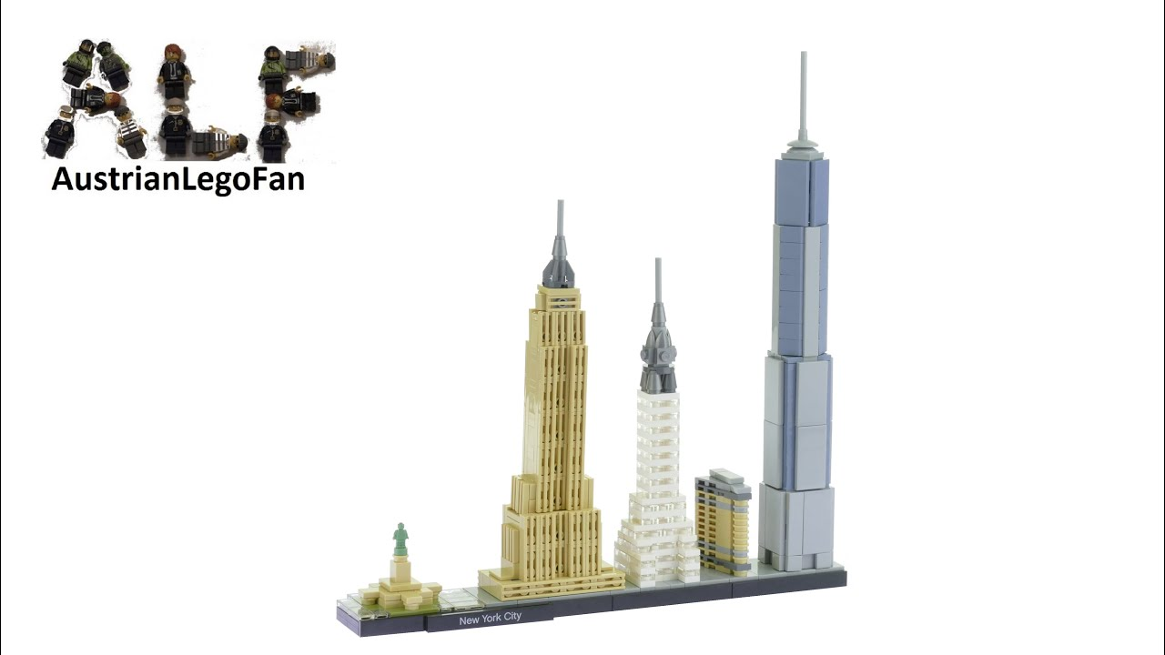 Lego Architecture The Eiffel Tower Building Set