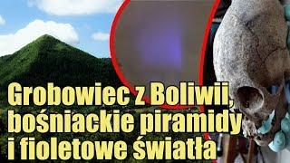 Wydłużone czaszki, wiek bośniackich piramid i kolejne obserwacje fioletowych świateł