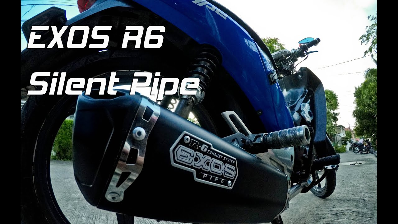 G1ZX: Exos R6 Silent Pipe... installed [Ep03 Bike