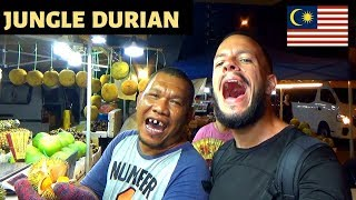 Eating PEANUT BUTTER DURIAN in BORNEO - MALAYSIA 2019