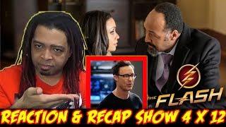 "THE FLASH Season 4 Episode 12 REACTION & RECAP SHOW!!! (4x12) ""Honey I Shrunk Team Flash"""