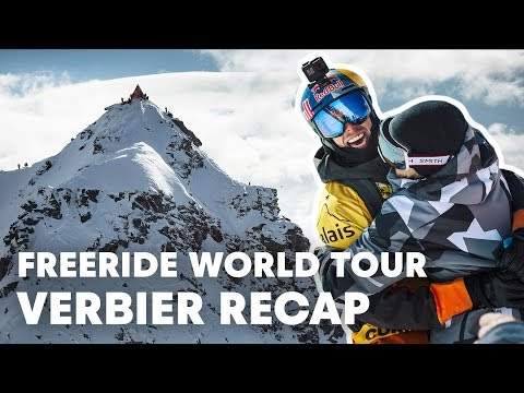 Freeride World Tour Full Highlights from Verbier, Switzerland