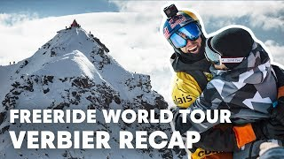 Freeride World Tour Full Highlights from Verbier, Switzerland