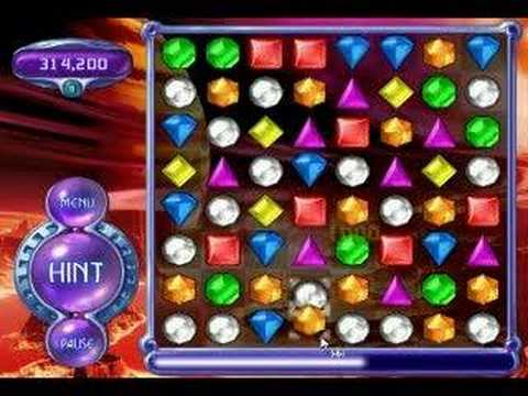 Bejeweled 2 Deluxe Action Mode 7 696 450 Part 1 6 Youtube