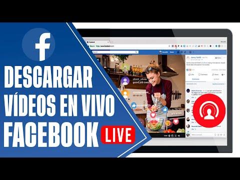 ¿Cómo Descargar Vídeos de transmisión al vivo de FACEBOOK LIVE? desde la PC.