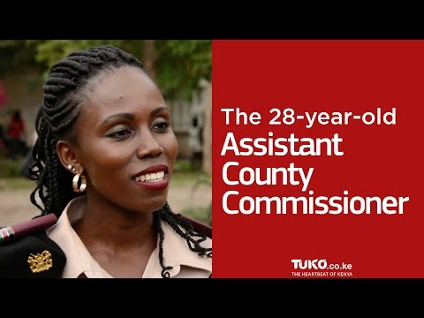 The 28-year-old Assistant County Commissioner