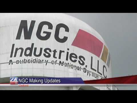 National Gypsum Company Gets Some Upgrades for Oxford Plant