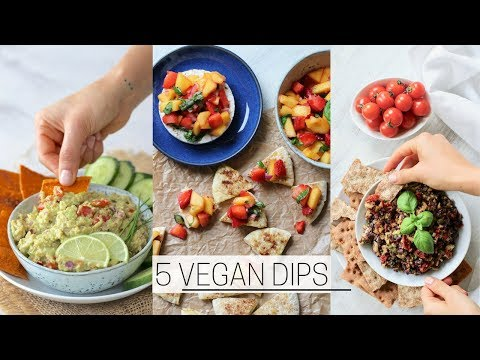 QUICK VEGAN DIPS » Healthy + Easy