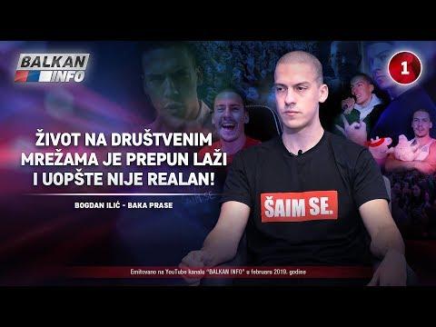 INTERVJU: Baka Prase - Život na društvenim mrežama je prepun laži i uopšte nije realan! (9.2.2019)
