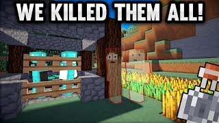 WE KILLED AN ENTIRE FACTION WHILE INVIS RAIDING! + HILARIOUS DEATH | Minecraft Factions