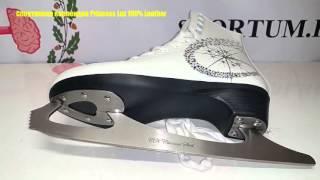 Обзор фигурных коньков Спортивная коллекция Princess Lux 100% Leather / Review ice skates