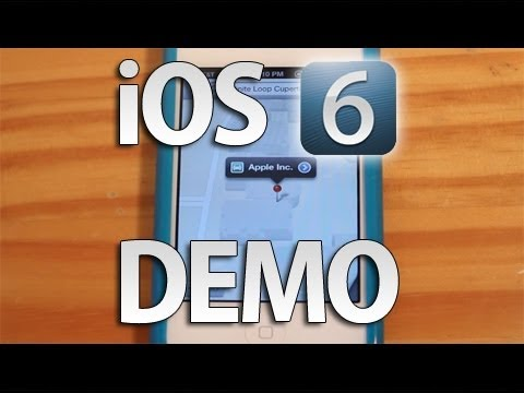 iPhone iOS 6 Hands-on Demo