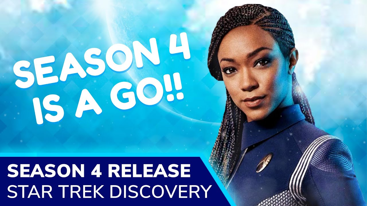 Star Trek Discovery Season 4 Renewed For 2021 By Cbs All Access As Star Trek Universe Expands Youtube
