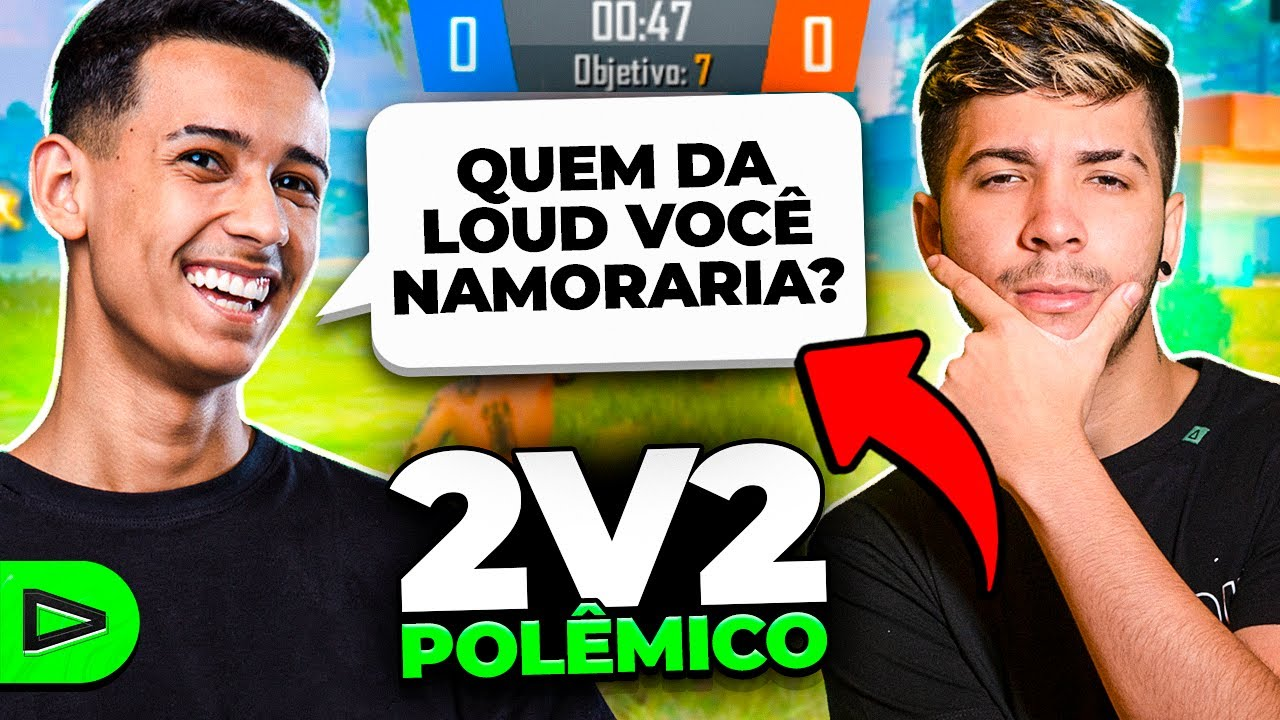 SE PERDER NO 2V2 RESPONDE A POLÊMICA!! LOUD FREE FIRE