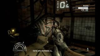 Alien Vs Predator (2010) Marine gameplay dx11 mode