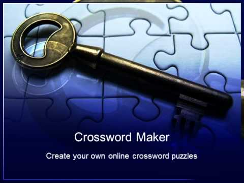 Crossword Maker | Online Crosswords Puzzle Compiler