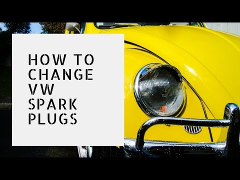 Changing Aircooled VW Spark Plugs