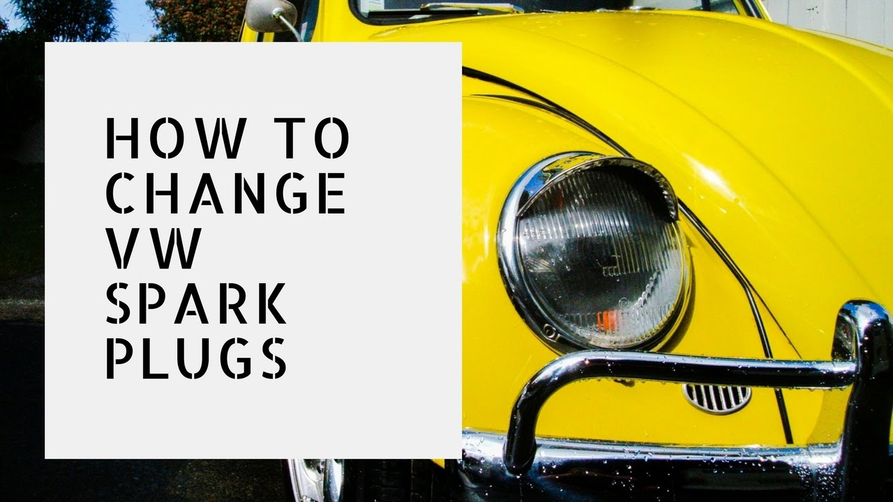 Changing Aircooled Vw Spark Plugs Youtube