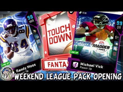WEEKEND LEAGUE PACK OPENING PRAYING TO PULL 98 OVR GHOST RANDY MOSS! Madden 19 Ultimate Team