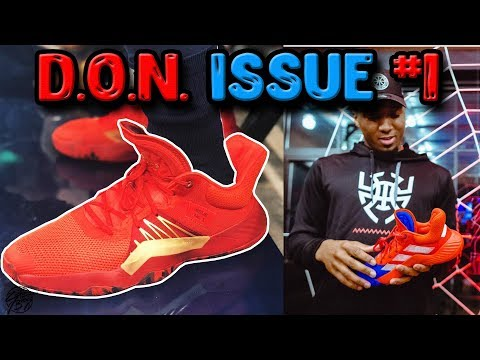 Adidas D.O.N. Issue #1 Donovan Mitchell's New Signature Shoe Unveiled!