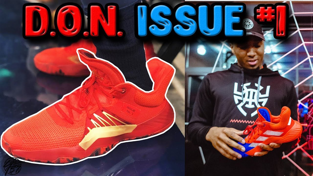 online retailer 49de2 b92aa Adidas D.O.N. Issue 1 Donovan Mitchells New Signature Shoe Unveiled!