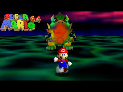 Super Mario 64 Final Boss: Bowser