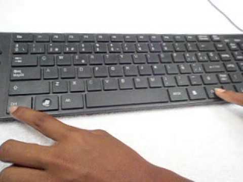 las funciones del teclado - YouTube
