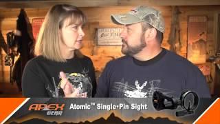 apex gear atomic one pin sight