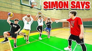 SIMON SAYS BASKETBALL CHALLENGE #2
