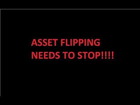 Asset Flipping Same Asset Over and Over