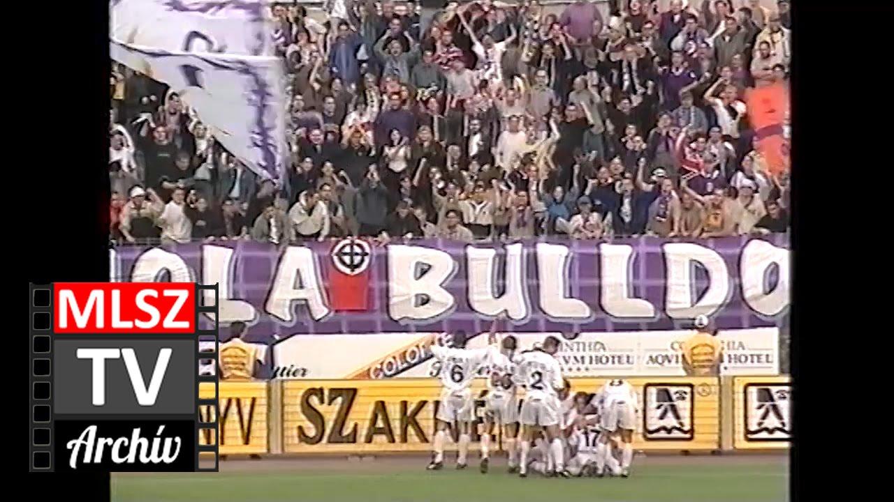 Vasas-Újpest | 1-2 | 2000. 09. 16 | MLSZ TV Archív