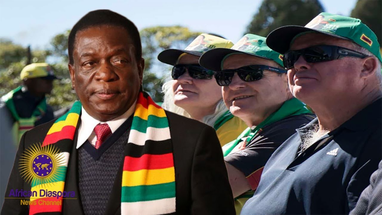 US Ask Zimbabwe To Return Land To White Farmers In Exchange For Sanctions Being Lifted