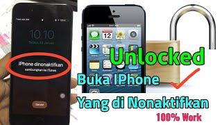 Membuka semua jenis iPhone yang lupa passcode atau yang tersangkut di logo Apple , termasuk iPhone 4.