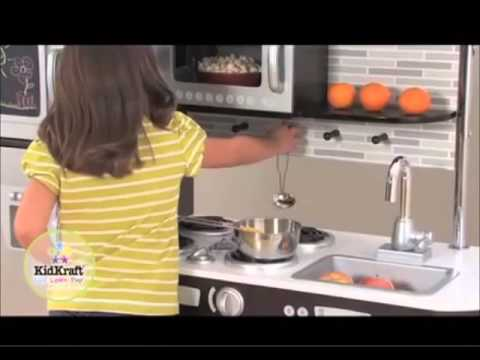 kidkraft uptown espresso kitchen in canada - youtube