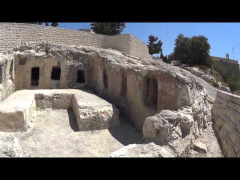 An ancient tomb of the Jews - a grave the Second Temple period on Mount Scopus, Jerusalem