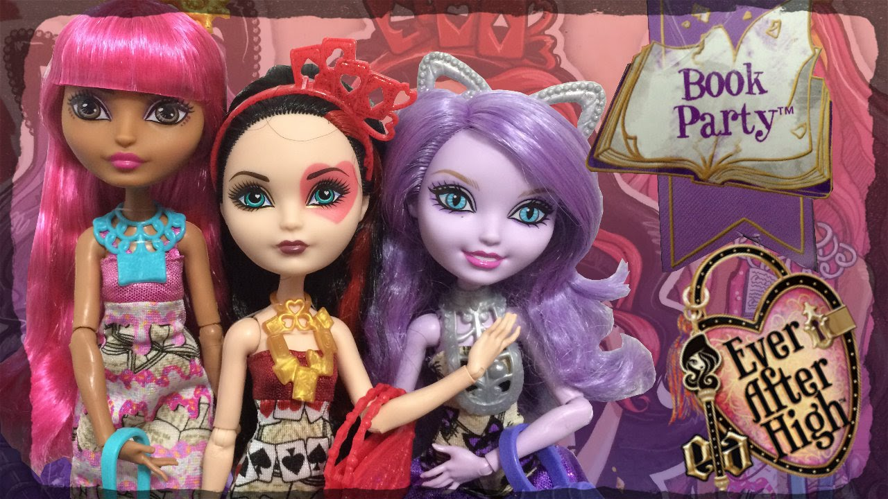 Ever After High Book Party Dolls Review Lizzie Hearts