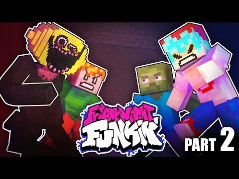 Monster School : FRIDAY NIGHT FUNKIN but Mobs & BF vs Monster vs Pico! - Minecraft Animation